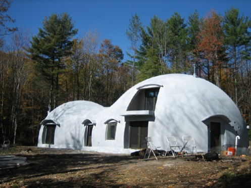 40755 Unusual Monolithic Dome Home